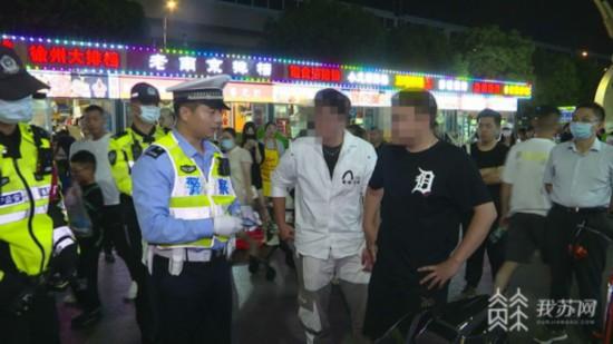 南京交警查处非法改装车营造良好迎考环境相互保险公司